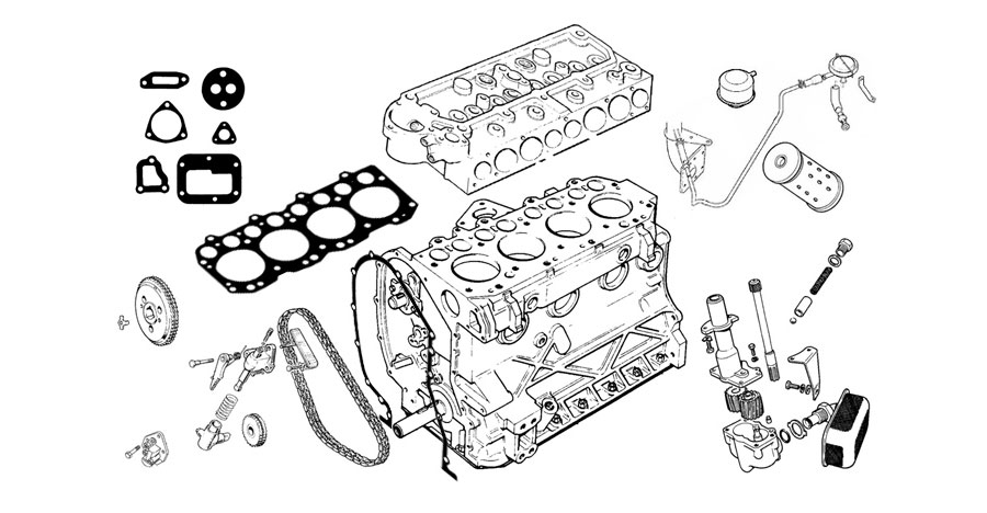 Engine and Engine parts